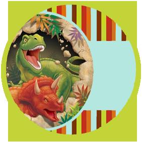 bonobon candy bar dinosaurios kit imprimible