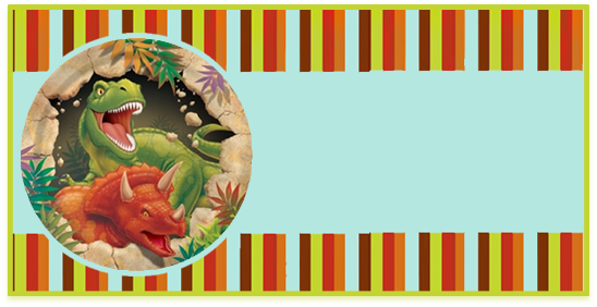 rhodesia candy bar dinosaurios kit imprimible