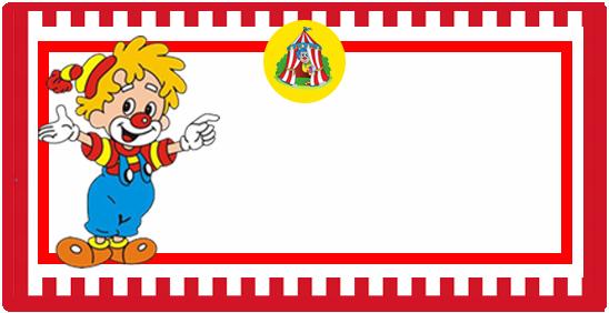 rhodesia-candy bar el PAYASITO kit imprimible