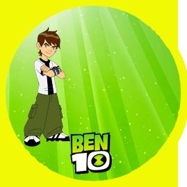 bonobon- candy bar BEN10 kit imprimible