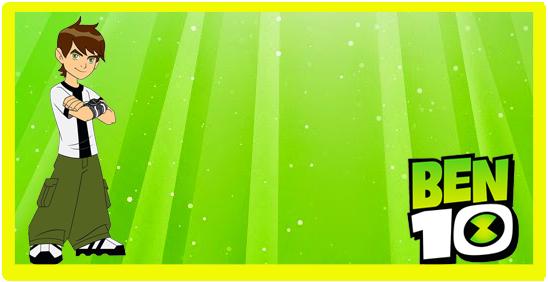 rhodesia- candy bar BEN10 kit imprimible