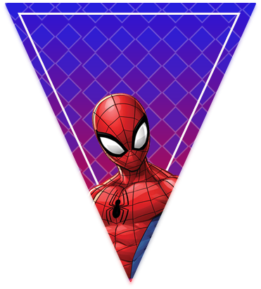 paraguita-candy-bar spiderman animado kit-imprimible