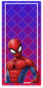 picodulce-candy-bar spiderman animado kit-imprimible