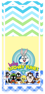 picodulce -candy-bar baby looney toon kit-imprimible