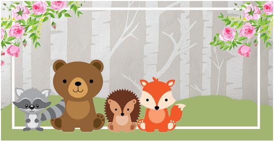 rhodesia-candy-bar animalitos de la selva kit-imprimible