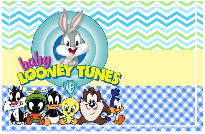 sugusconfitados-candy-bar baby looney toon kit-imprimible