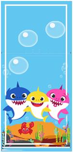 picodulce -candy-bar baby shark kit-imprimible