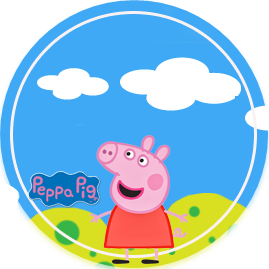 bonobon candy bar peppa pig y sus amigos kit imprimible