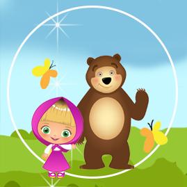 bonobon candy bar masha y el oso tiernos kit imprimible