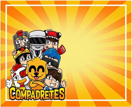 alfajores -candy bar COMPADRETES kit imprimible