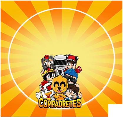 alfajores3 -candy bar COMPADRETES kit imprimible