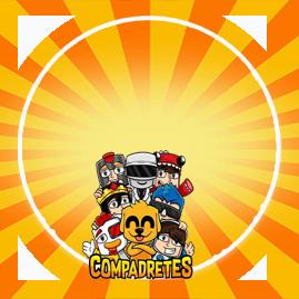 bonobon -candy bar COMPADRETES kit imprimible