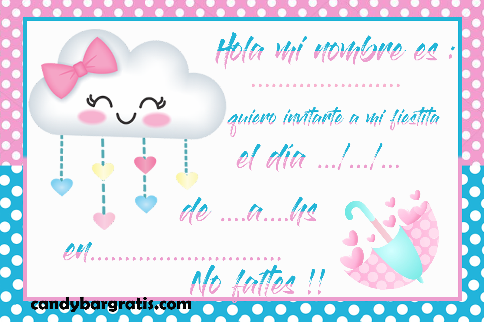 invitacion-tarjetita--candy bar lluvia de amor 2 kit imprimible