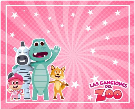 alfajores -candy bar CANCIONES DEL ZOO NENA kit imprimible