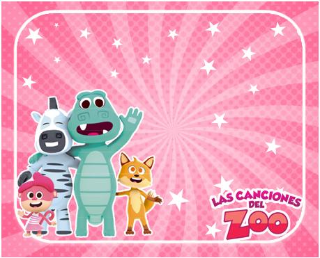 alfajores2 -candy bar CANCIONES DEL ZOO NENA kit imprimible