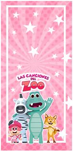 picodulce -candy bar CANCIONES DEL ZOO NENA kit imprimible