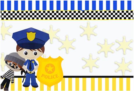Tita-candy bar POLICIA TIERNO kit imprimible