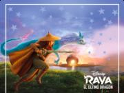 alfajores-candy bar RAYA Y EL ULTIMO DRAGON kit imprimible