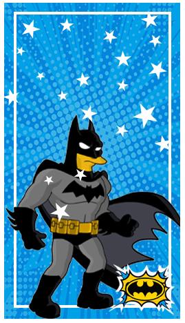 baggio mini-candy bar BATMAN ANIMADO kit imprimible