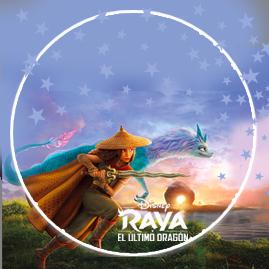 bonobon-candy bar RAYA Y EL ULTIMO DRAGON kit imprimible