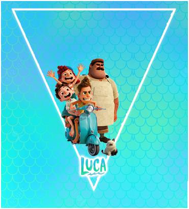paraguita-candy bar LUCA PIXAR kit imprimible