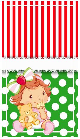 baggio mini-candy bar FRUTILLITA BEBE kit imprimible