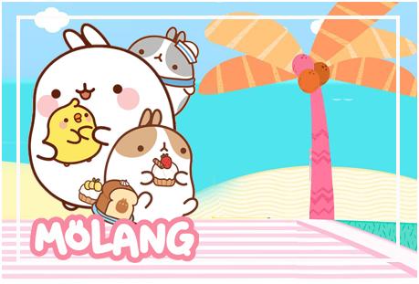 Tita-candy bar MOLANG kit imprimible